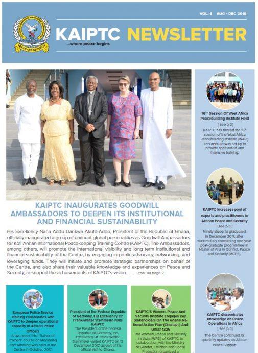 KAIPTC Newsletters