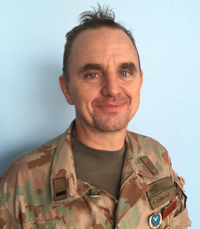 Maj. Adrian Zurmuehle
