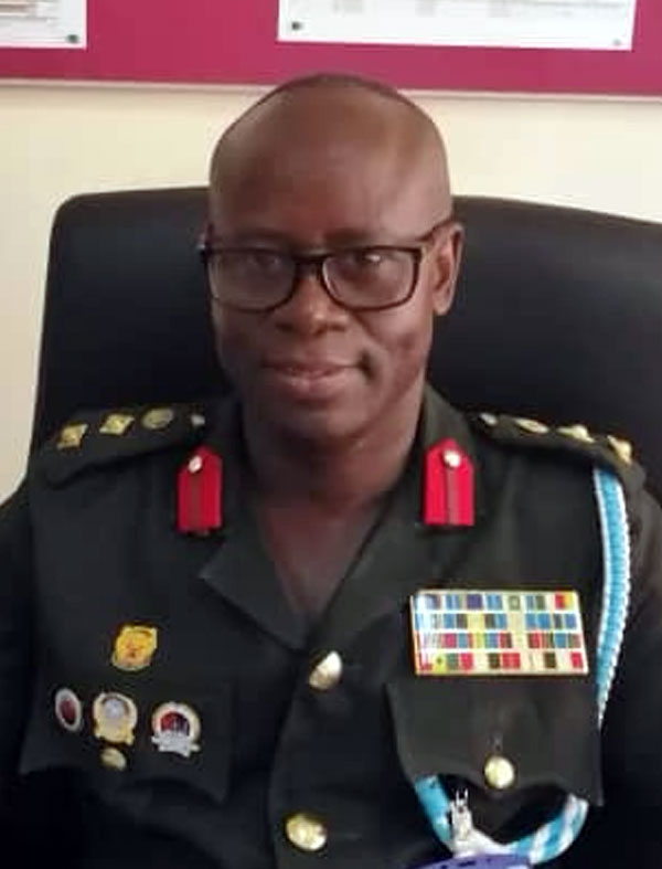 Director Training Colonel Albert Kwadwo Dawohoso