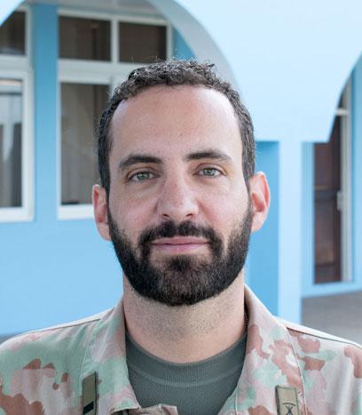 Course Director Maj Federico Leonardi